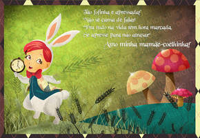 White Rabbit - Mother's day by Isis-M