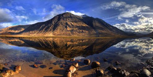 Loch Etive, Scotland by adamsalwanowicz