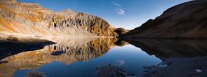 Lac du Vieux Emosson by adamsalwanowicz