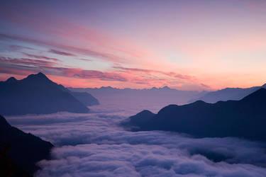 Alps at down by adamsalwanowicz