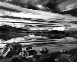 Rannoch Moor, Scotland by adamsalwanowicz
