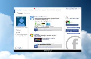 Metro FaceBook -Romanian Version- by Brebenel-Silviu