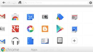 Google Chrome App Concept by Brebenel-Silviu