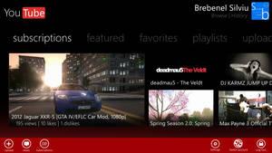 Metro UI : YouTube by Brebenel-Silviu
