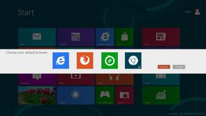 Windows 8 : Browser Choice by Brebenel-Silviu