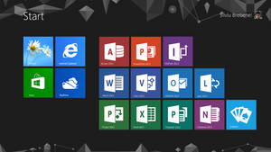 Office 2013 : New Interface Tiles by Brebenel-Silviu