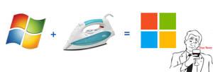 Microsoft Logo : Making Of by Brebenel-Silviu