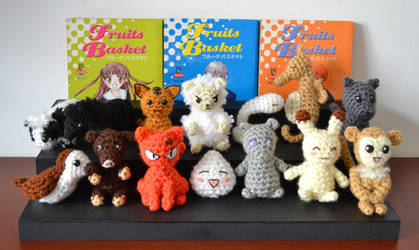 Fruits Basket Zodiac Animals by MiaHandcrafter
