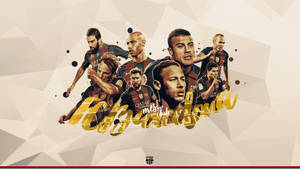 Fcbarcelona wallpaper by Achrafgfx
