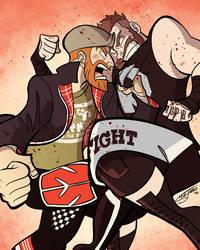 Zayn vs. Owens, Fight Forever! by TheSteveYurko