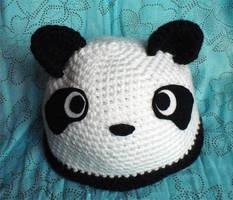 Panda Hat by WollMia