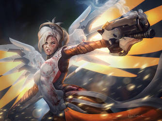 Mercy by xWaxWingx