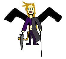 Mix with Cloud, Sephiroth, Zidane and Kuja by Sephikuji