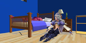 Kuja and Zidane at home by Sephikuji
