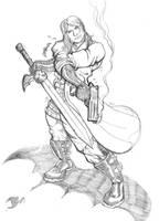 Dante sketch by The-Standard