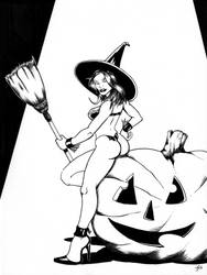 Witch Pumpkin Cheesecake? by The-Standard
