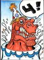 Dinosaur Card by The-Standard
