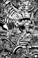 Samus vs Aliens inks by The-Standard