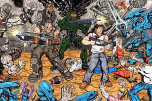 Halo Gears Walking Dead Mashup by The-Standard