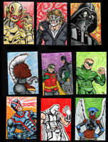 March Sketchcards! by The-Standard