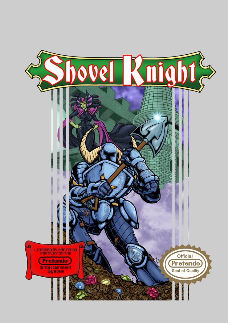 Shovel Knight by The-Standard