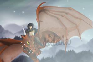 Caliel Dragonnier by Diddha