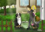 mon-rival-est-un-chien by Diddha