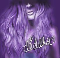 Self-portrait :) by Diddha