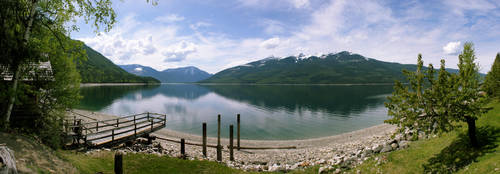 Nakusp on the Lake by Barcode7241