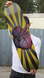 I Heart Skateboards by Barcode7241