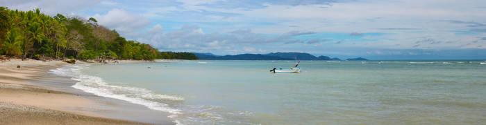 Montezuma Beach, Costa Rica by Barcode7241