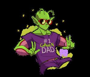 #1 Green Dad!!! by TheatricalPlacenta
