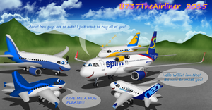 Willie and the Living Plushies by A320TheAirliner
