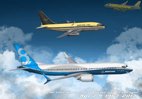 50 Years after the First Flight by A320TheAirliner