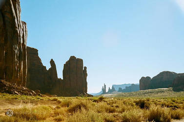 Navajo Country | Monument Valley by JasonKoons