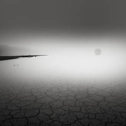 Fog at the lake bed IV by EmilStojek