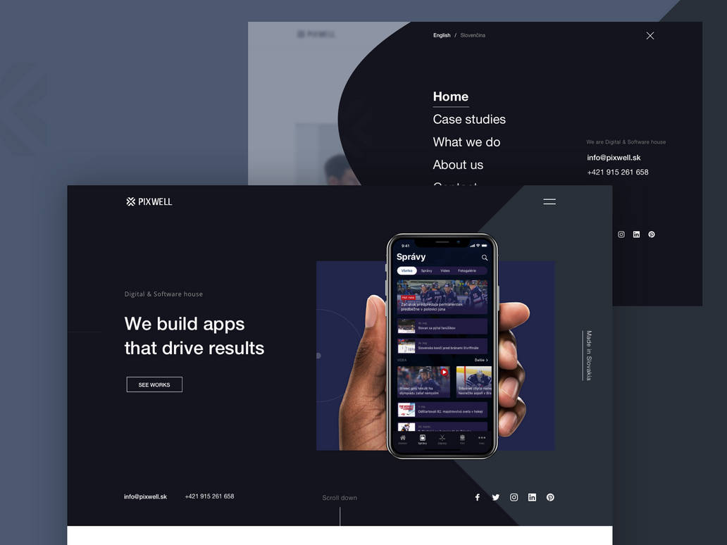 Redesign for Pixewell by jozef89