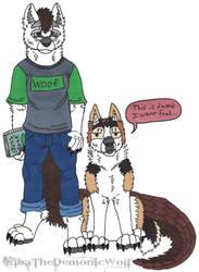 Kiba and Timber by KibaTheDemonicWolf