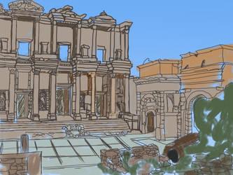 Ephes sketch by SoniOnna