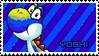 Blue yoshi by koshechkazlatovlaska