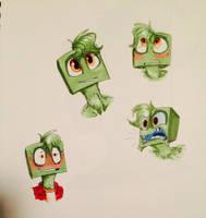 More copic doodles by SpasDragonStudios