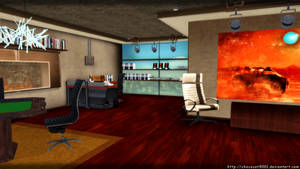 Shepard's Apartment (Citadel DLC) - MMD Stage DL by DiemDo-Shiruhane