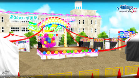 ColorfulxMelody stage_ MMD stage DL by DiemDo-Shiruhane