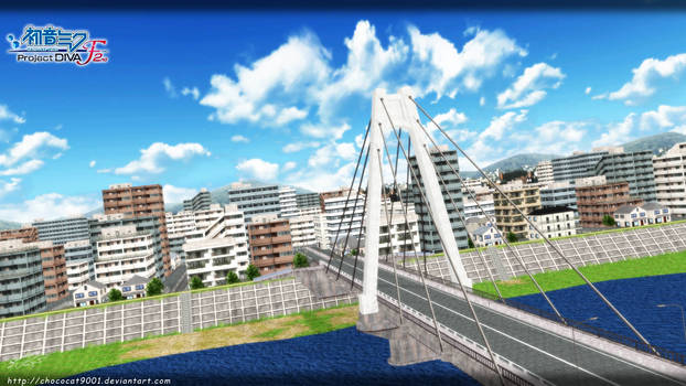 Glory 3usi9 CITY _ MMD stage DL by DiemDo-Shiruhane
