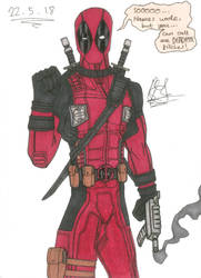 Deadpool by cOmicBrooks