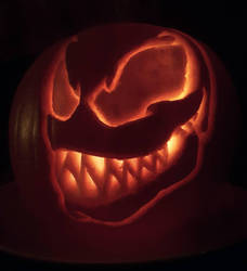 We Are Venom! (Pumpkin carving) by cOmicBrooks