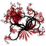 Red Black Vine by lunarbunnies