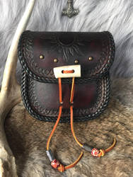 Leather belt pouch by TheGuildedPlane