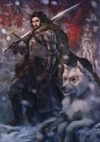 Jon Snow by Drawslave
