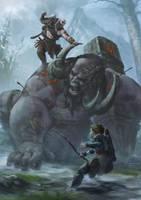 God of War by Drawslave